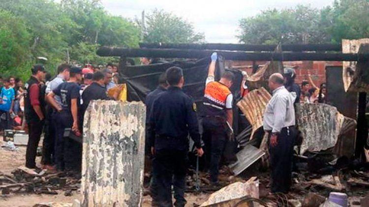 Santiago del Estero: quiso salvar a su hermanito y ambos murieron calcinados