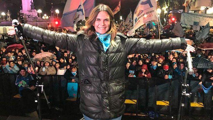 Granata se manifestó en contra del aborto a la nena violada en Jujuy