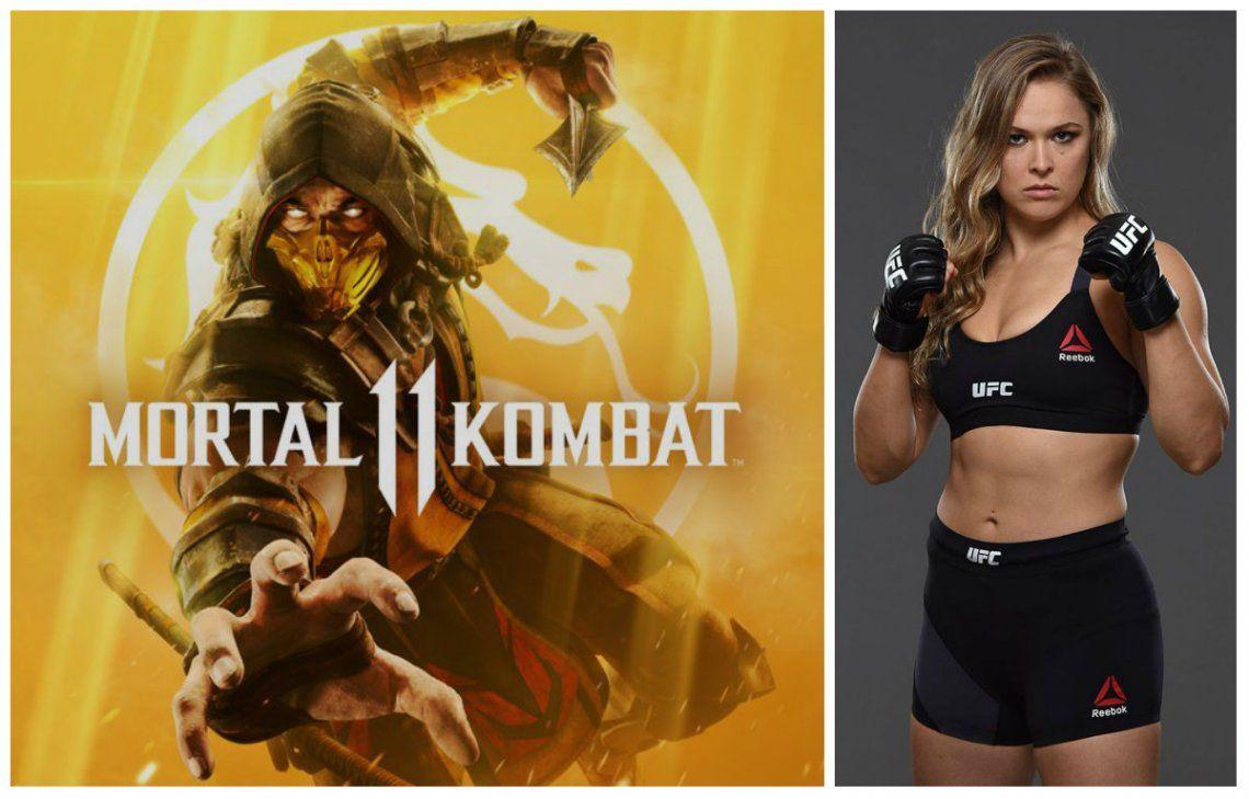 Mortal Kombat 11: nuevo tráiler y fin del misterio con Ronda Rousey