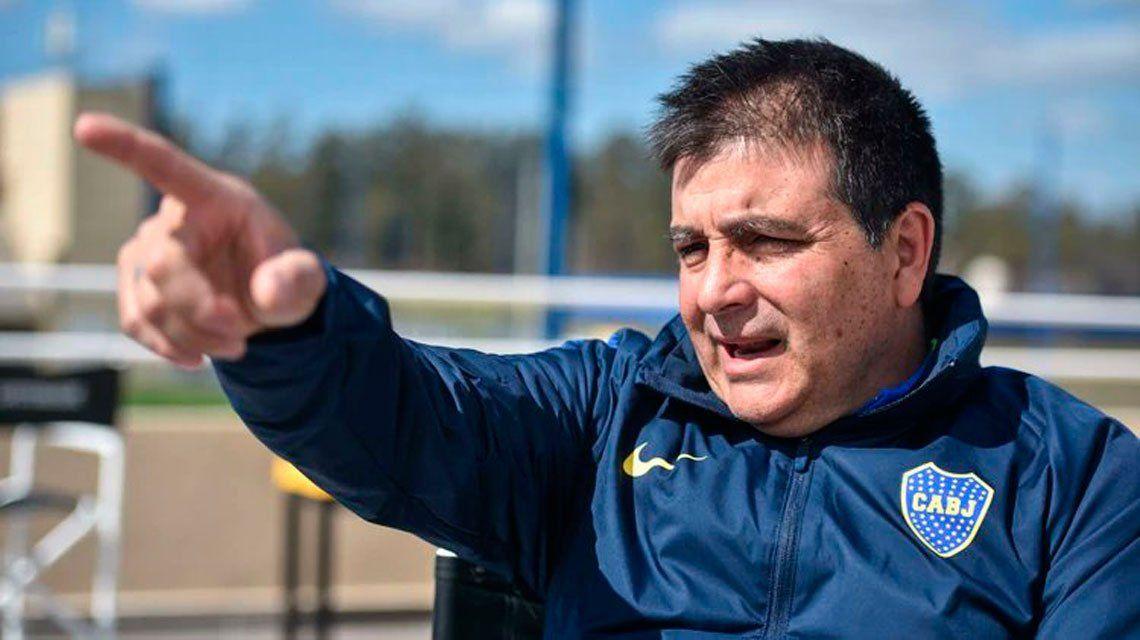 Burdisso echó a Claudio Vivas de Boca