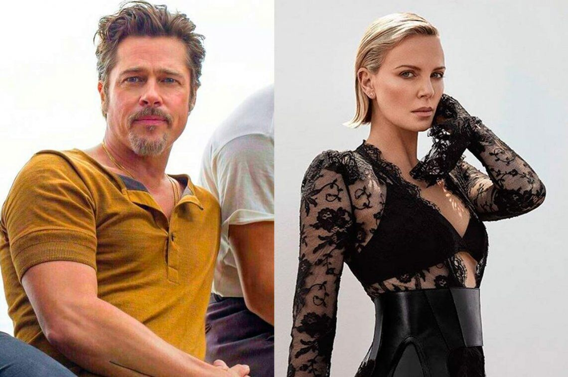 Brad Pitt y Charlize Theron estarían juntos desde hace un mes