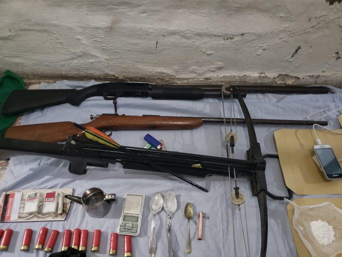 Lanús: descubren un búnker narco a metros del Hospital Evita