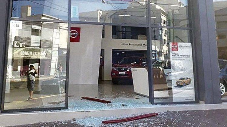 dEl ataque ocurrió pasadas las 3 de ayer.