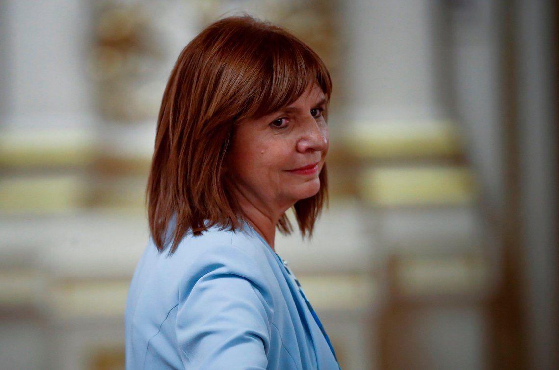 Bullrich: En Argentina el que las hace las paga: si es argentino, paga acá; si es extranjero, se va