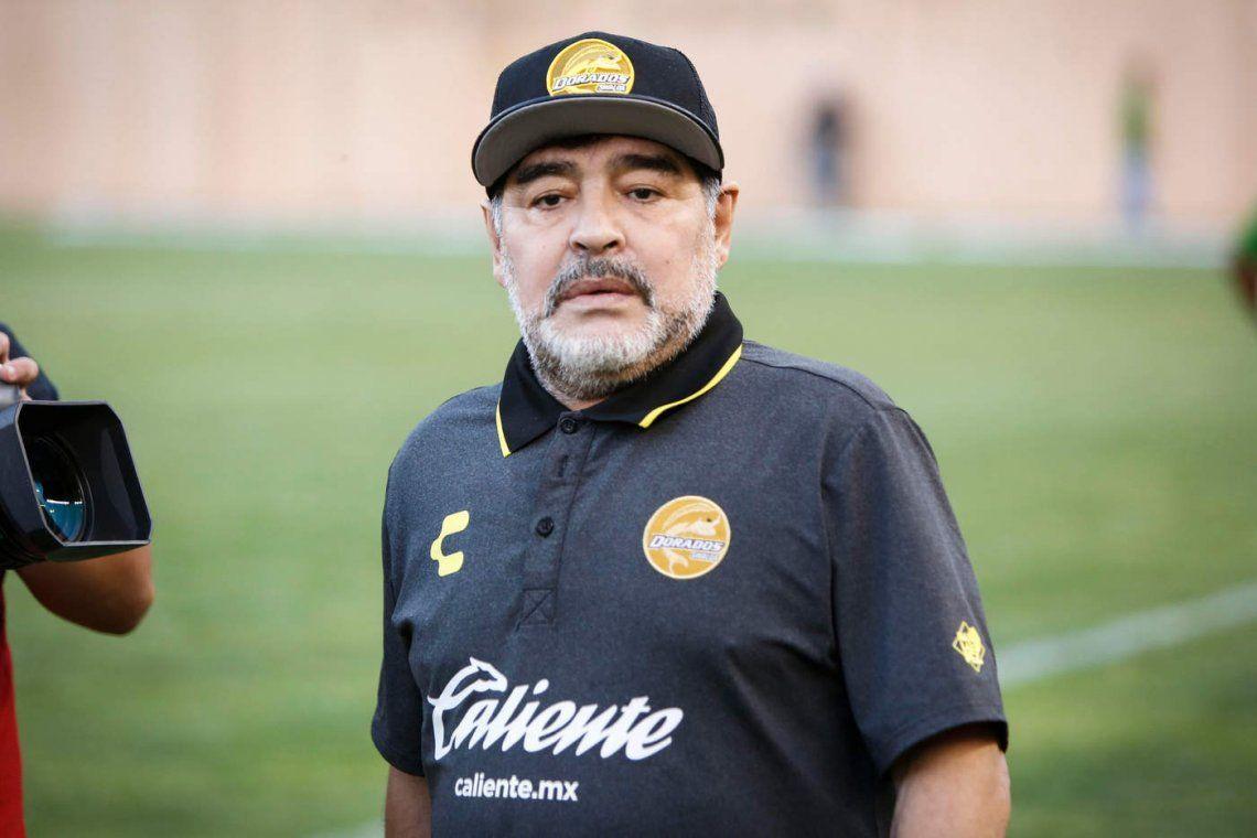 Maradona perdió el ascenso con Dorados: ¿seguirá en México?