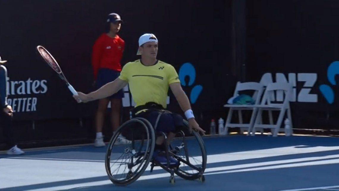 Tenis Adaptado: el argentino Gustavo Fernández, finalista del Australian Open