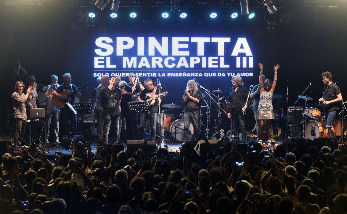 Las mejores imágenes del homenaje a Luis Alberto Spinetta en el Konex