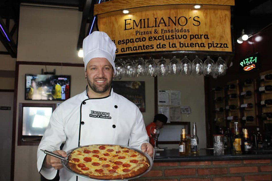 El goleador de Independiente que pasó de jugar en el Manchester City a ser empleado del mes en una pizzería