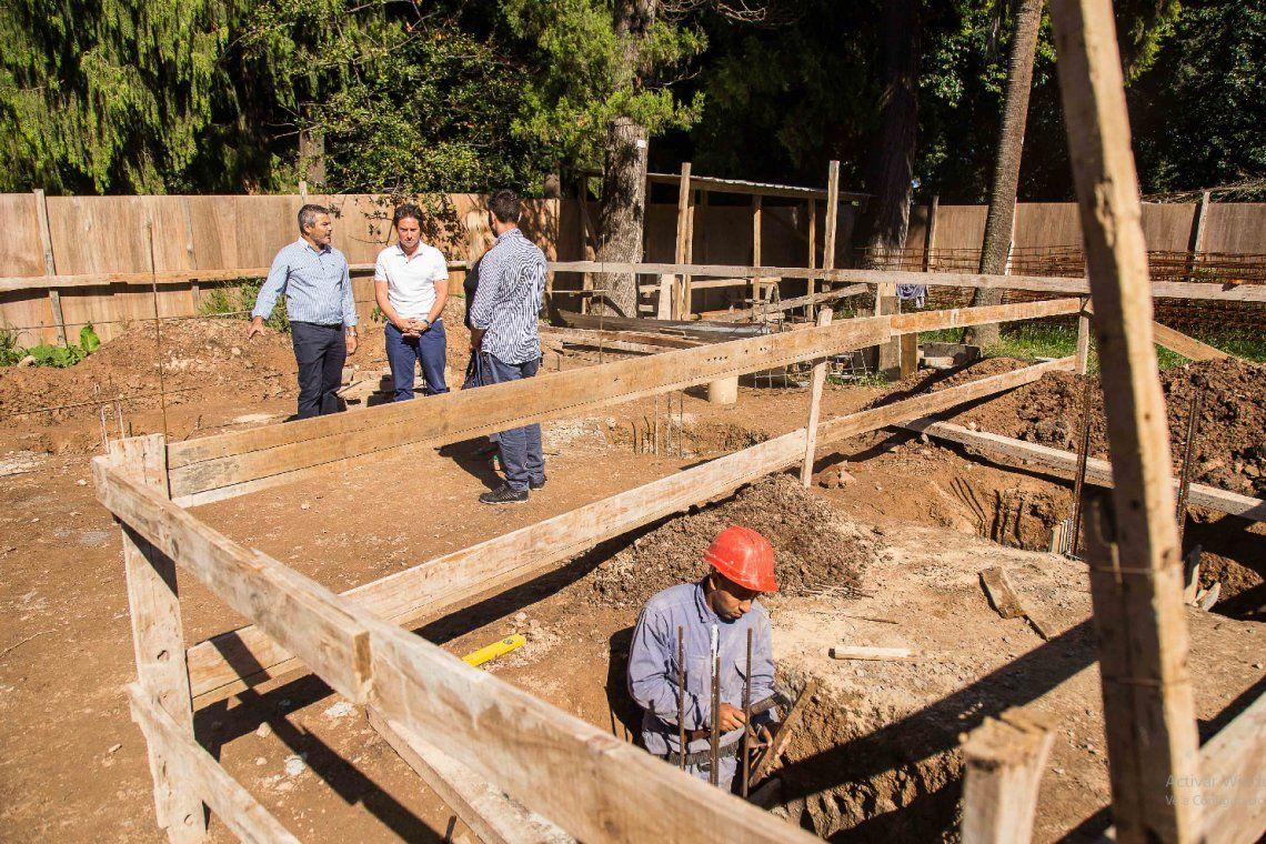 Quilmes: obras de ampliación en la Escuela Agraria Nº 1