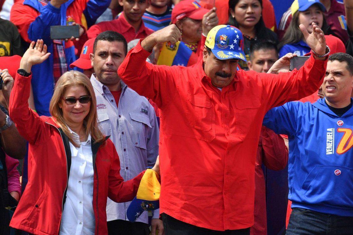 #2Feb | Crisis en Venezuela: Nicolás Maduro encabezó una marcha a 20 años de la asunción de Hugo Chávez: El golpe de Estado fracasó y no se dan cuenta