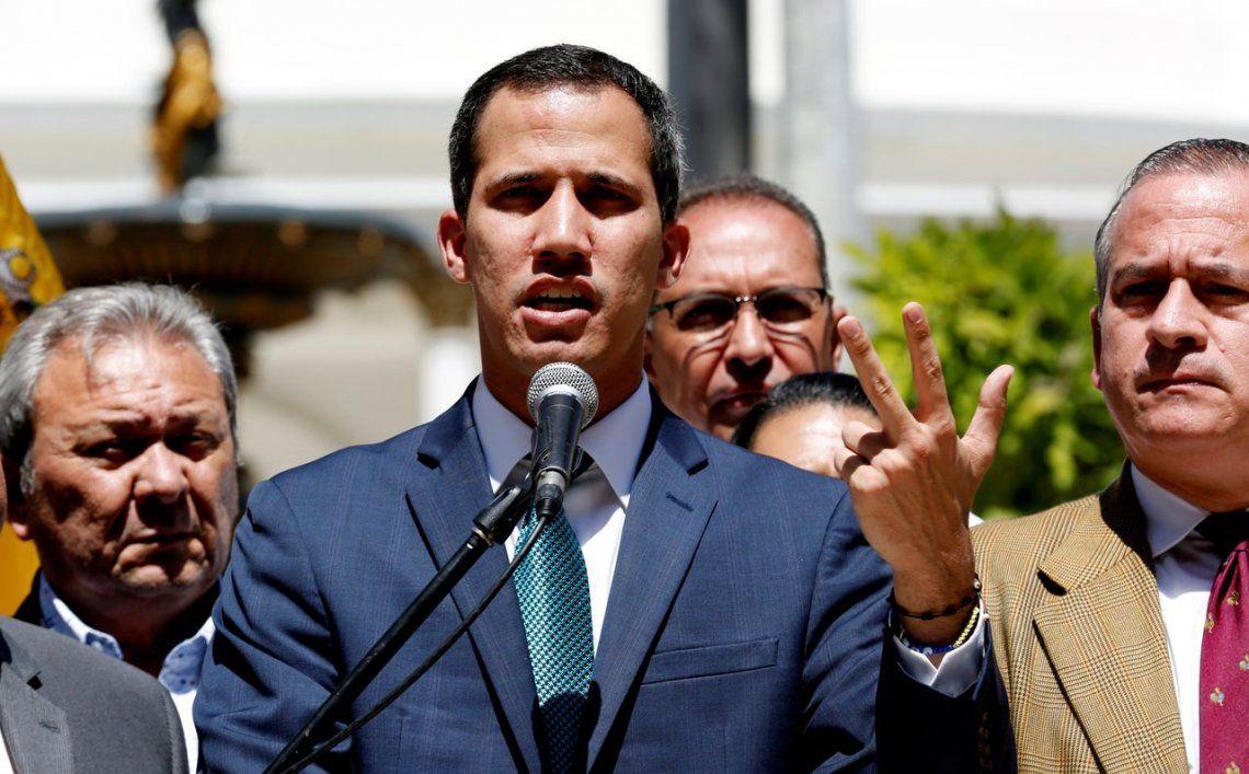 Juan Guaidó: No hay posibilidad de una guerra civil