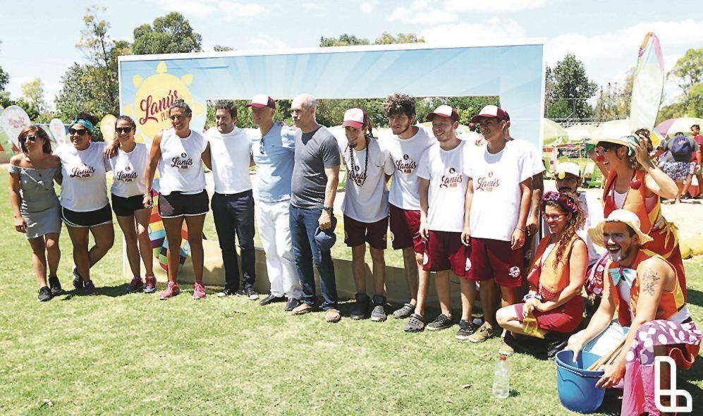 Grindetti y Larreta recorrieron las instalaciones de Lanús Playa