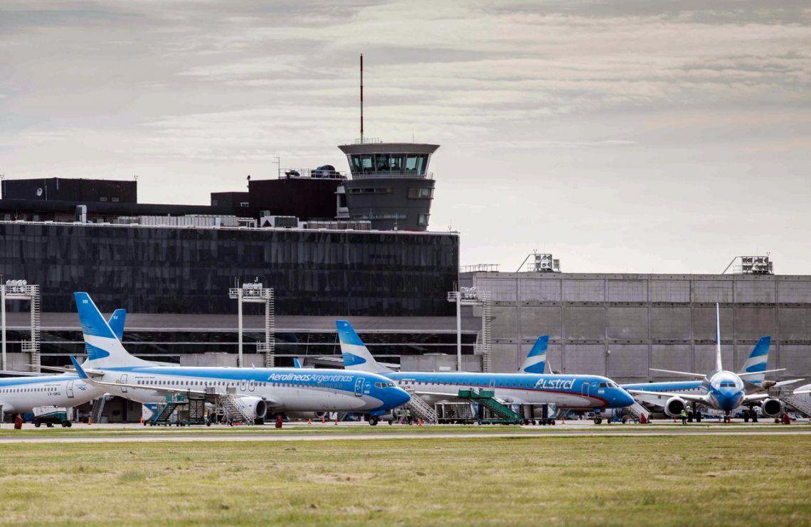 En enero viajaron 1.352.000 pasajeros en vuelos comerciales de cabotaje.