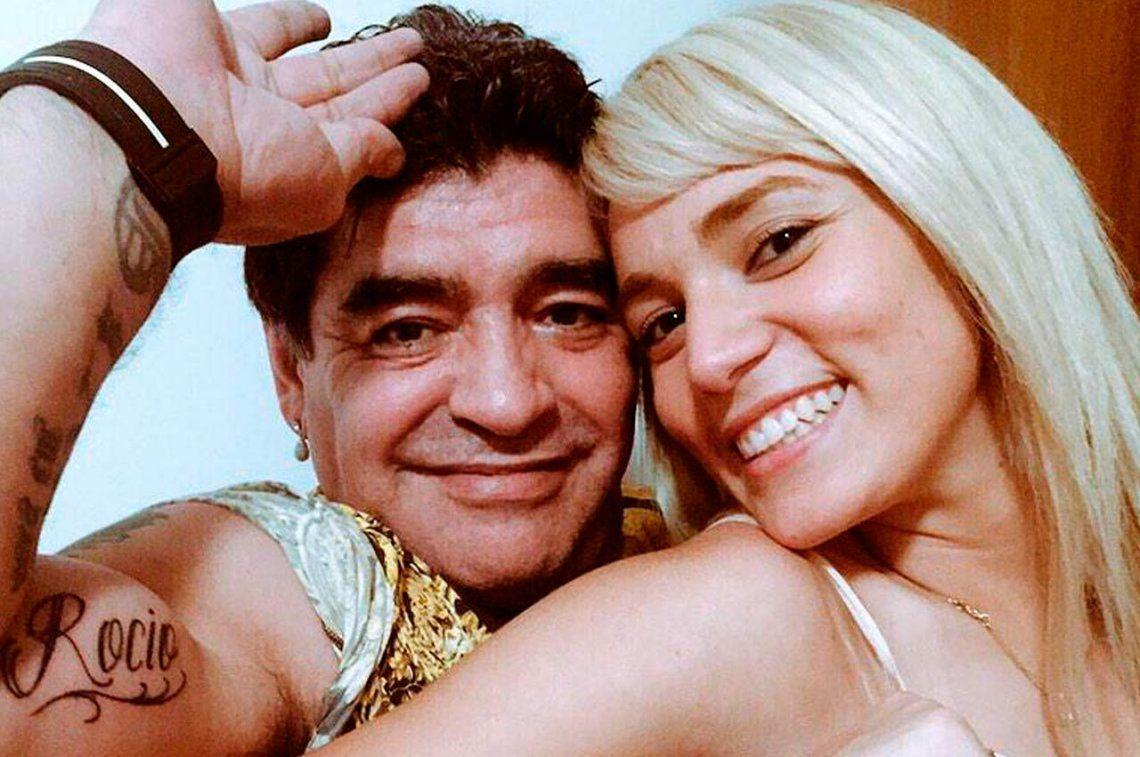 Rocío Oliva se metió en la pelea con Maradona y Claudia Villafañe salió a contestarle