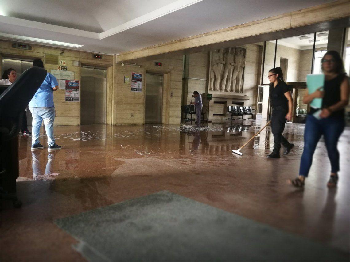 Extienden la feria judicial en Comodoro Py por la falta de limpieza en los baños