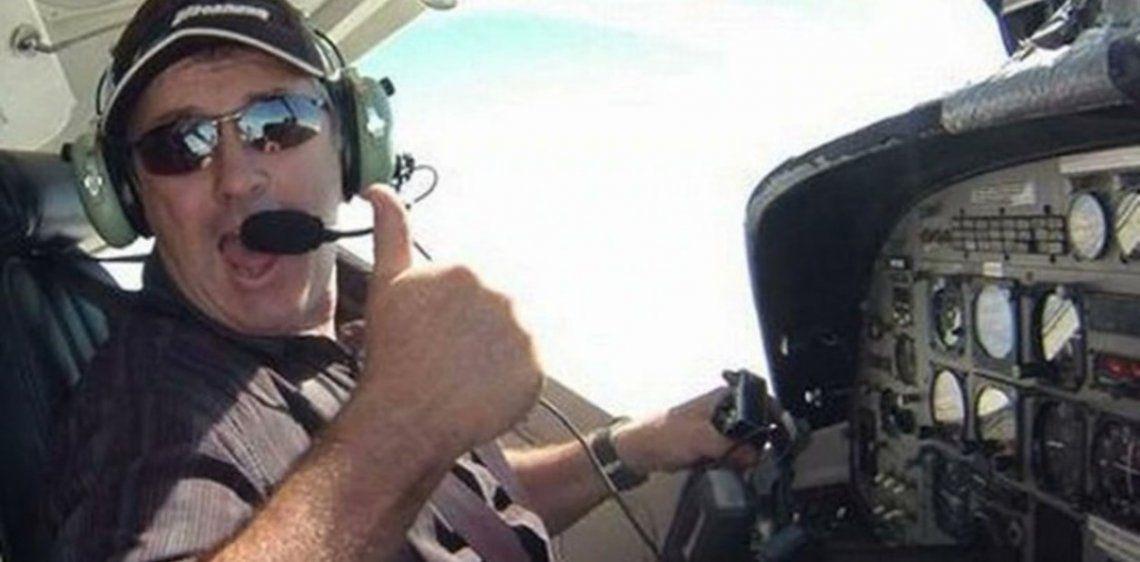 Emiliano Sala: la familia del piloto David Ibbotson pide fondos para buscar y rescatar su cuerpo