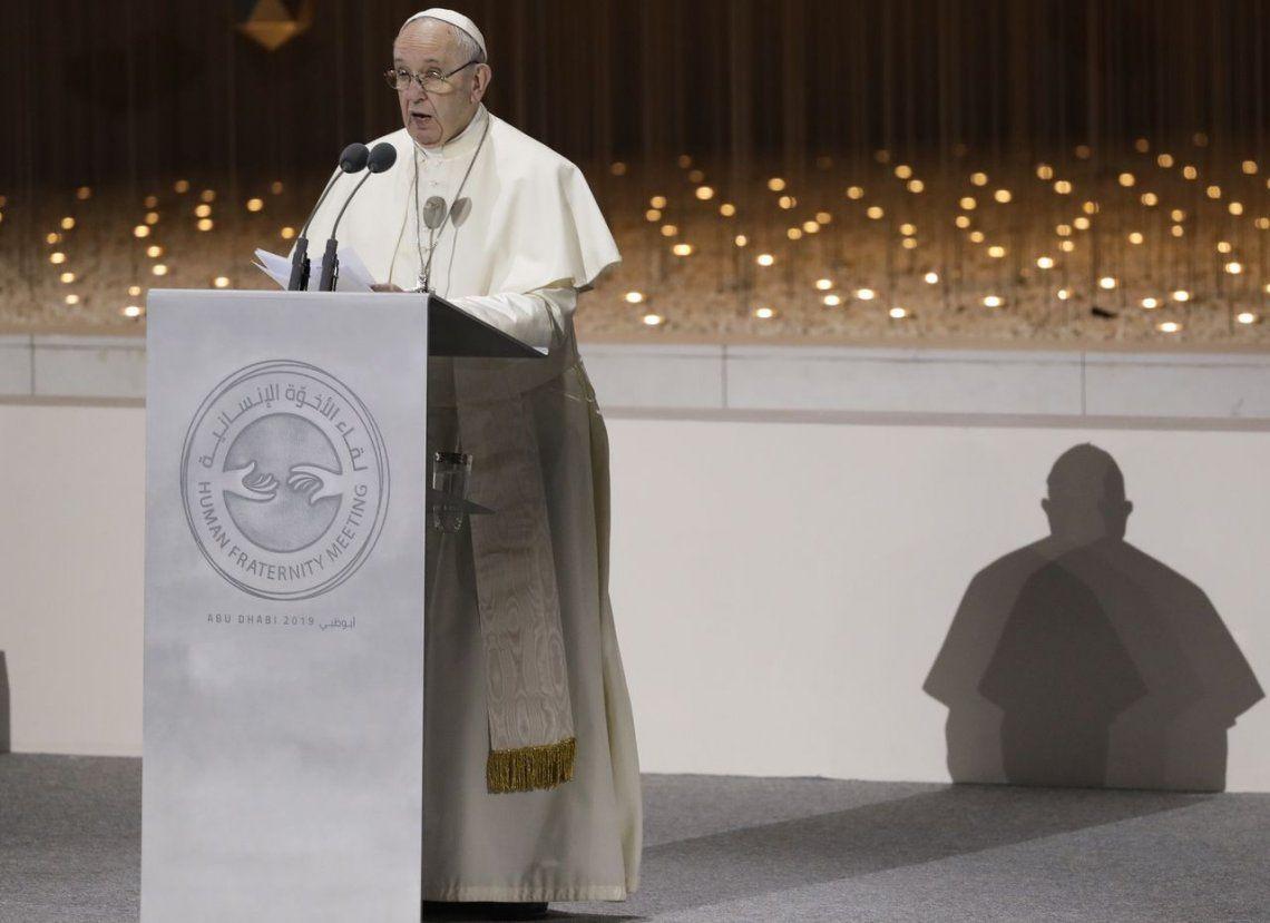 Tras la carta que le envió Nicolás Maduro, el Papa Francisco dijo que para mediar en la crisis de Venezuela tiene que pedirlo también Juan Guaidó