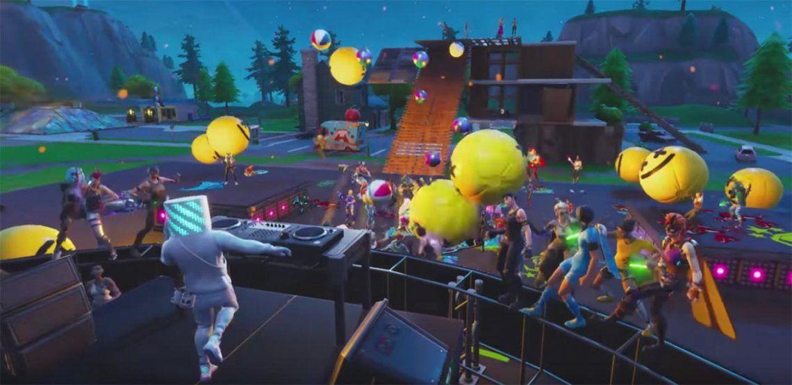 Fortnite: el primer concierto virtual de DJ Marshmello en Fortnite rompió todos los récords