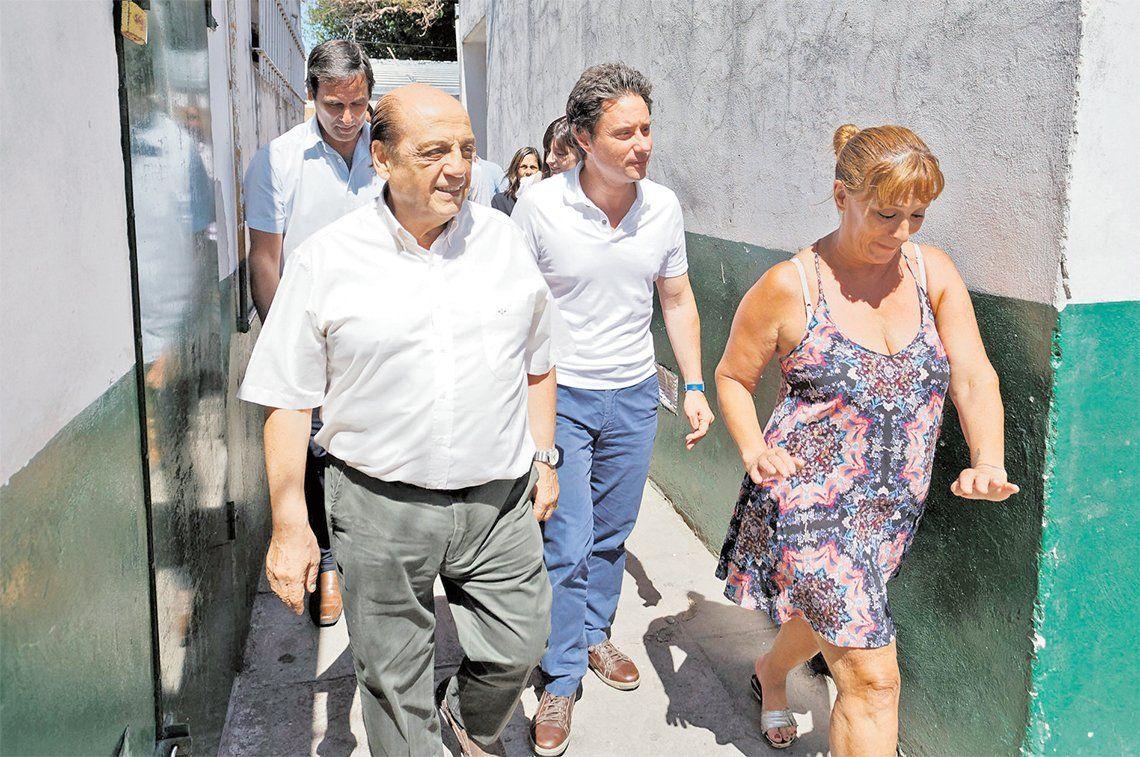 Berazategui: avanza la reconstrucción de la Escuela Primaria N° 1 de Villa España