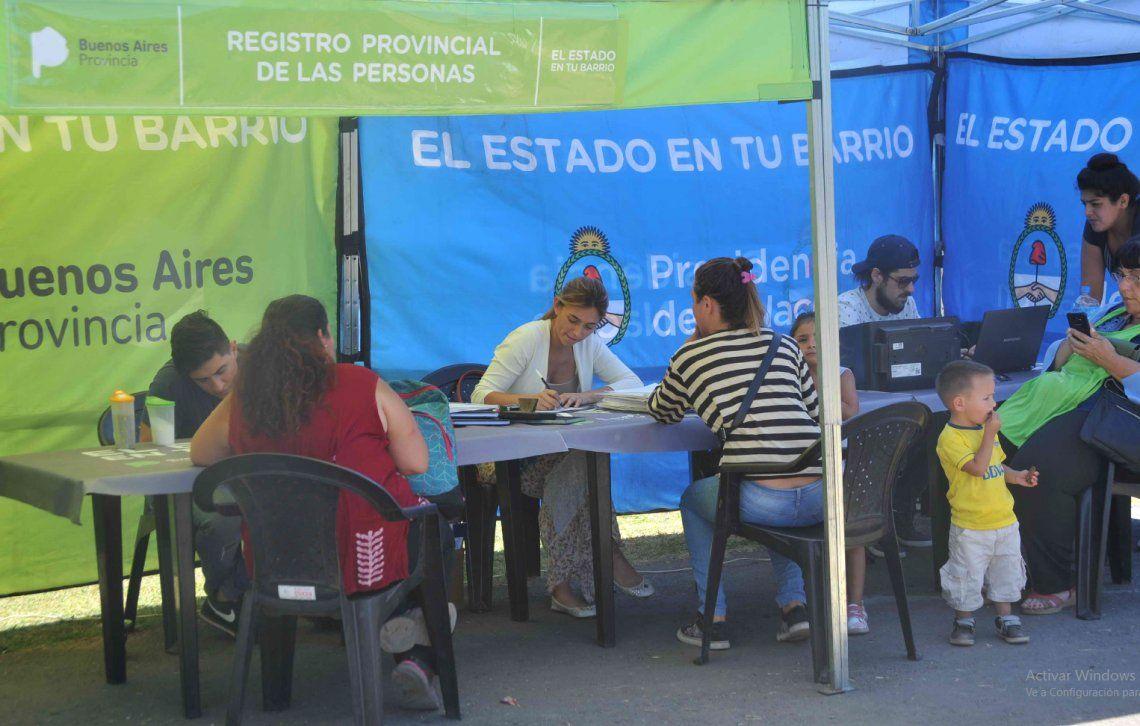 Quilmes: el Estado en tu Barrio, en la Unidad Sanitaria La Primavera