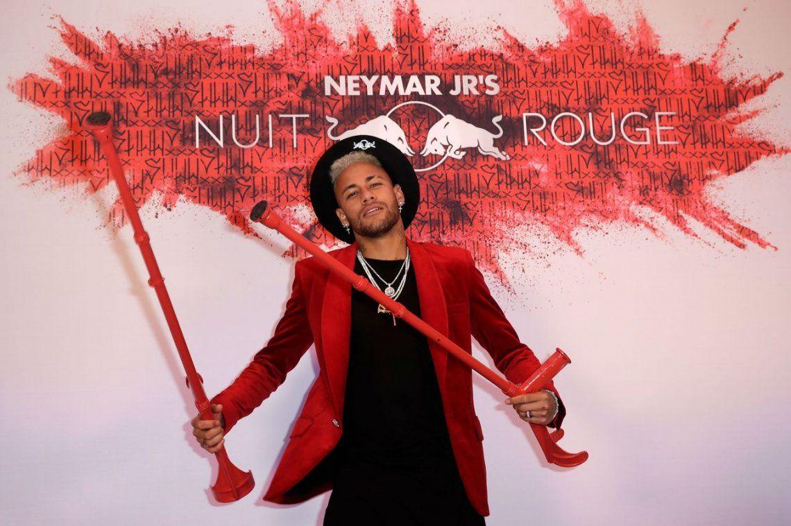Las fotos de la fiesta de cumpleaños de Neymar
