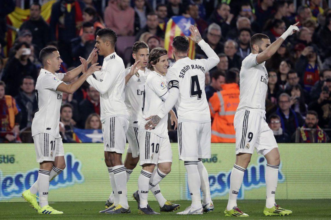 Copa del Rey: Barcelona, con un Lionel Messi entre algodones, igualó ante Real Madrid en un intenso partido