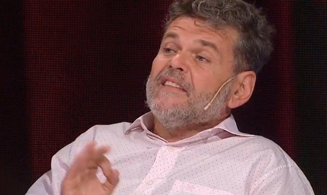 Alfredo Casero: Me enojo con el gobierno porque son pecho fríos