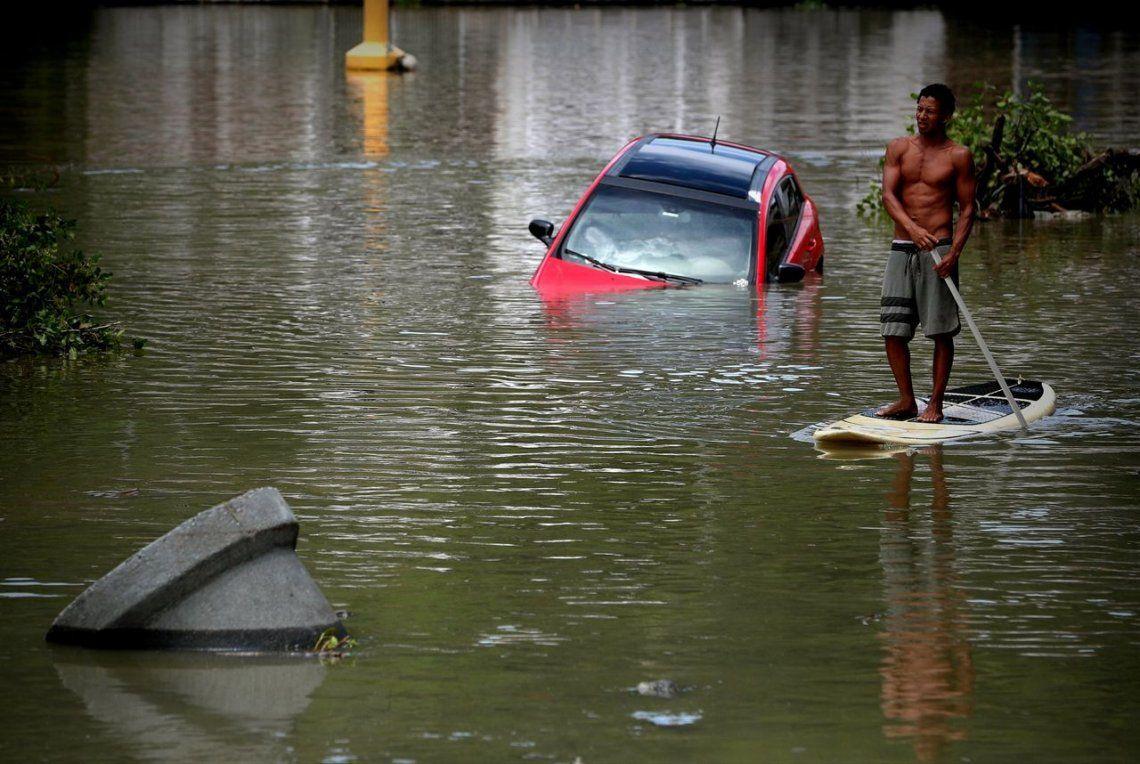 Temporal deja cinco muertos en Rio de Janeiro