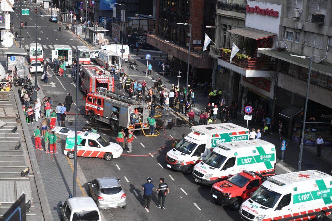 Piden peritajes por el incendio en el hotel Las Naciones que dejó 5 muertos