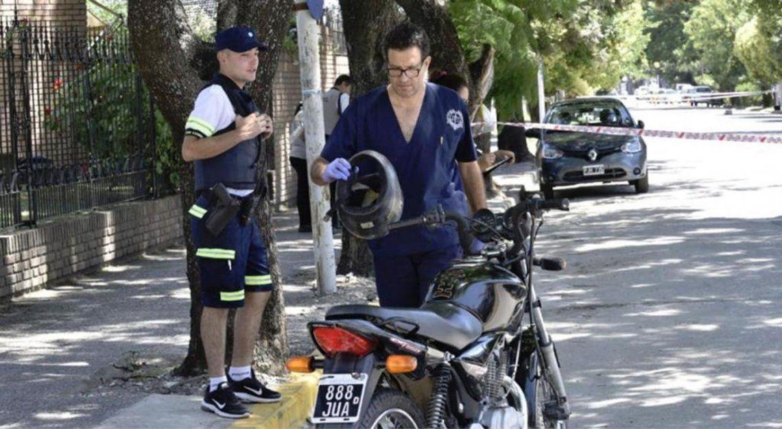 Córdoba: un vecino mató a un motochorro que escapada de un robo