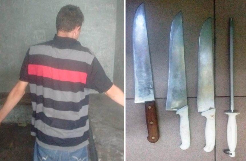 Berazategui: un detenido por vender cuchillos robados a un carnicero
