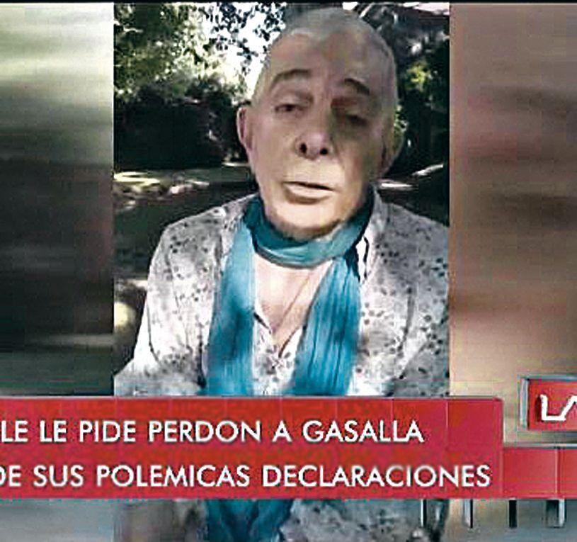Carlos Perciavalle se disculpó con Antonio Gasalla por sus dichos