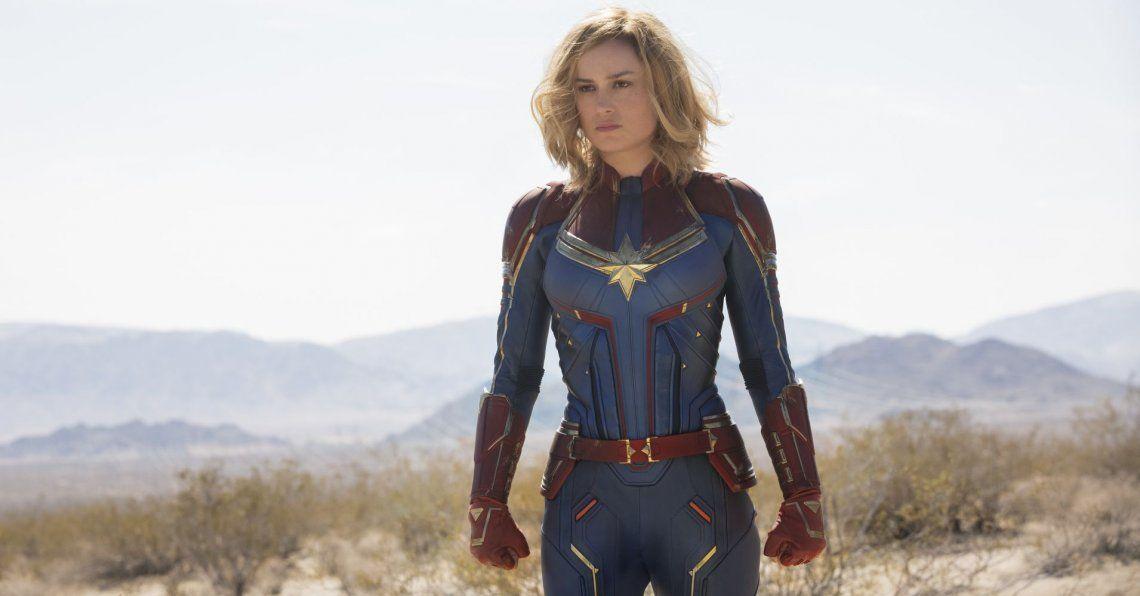 Capitana Marvel y Nick Fury se sacan chispas en un nuevo spot