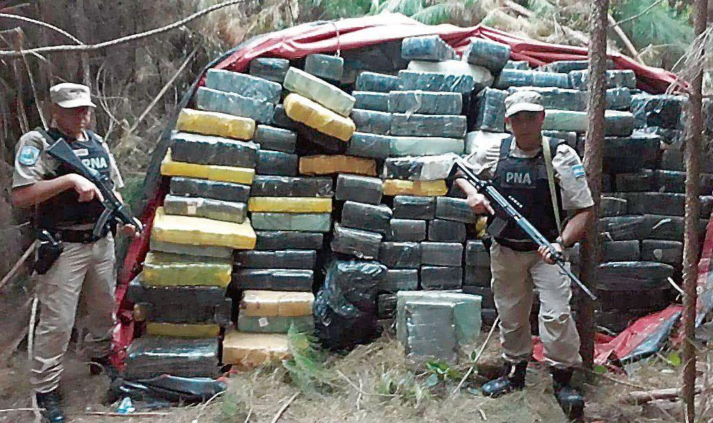 dParte de la droga secuestrada en el denominado Operativo Comparsa.