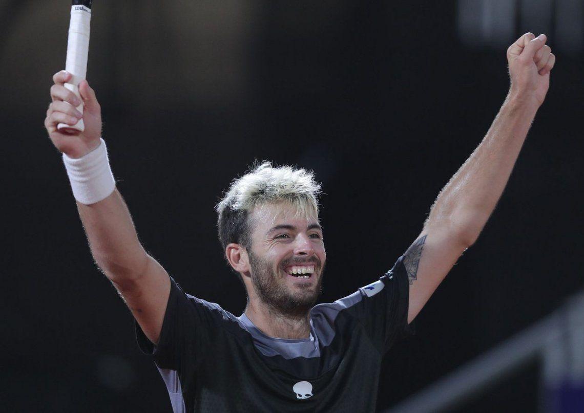 Juan Ignacio Londero dio el batacazo: derrotó a Guido Pella y se quedó con el Córdoba Open
