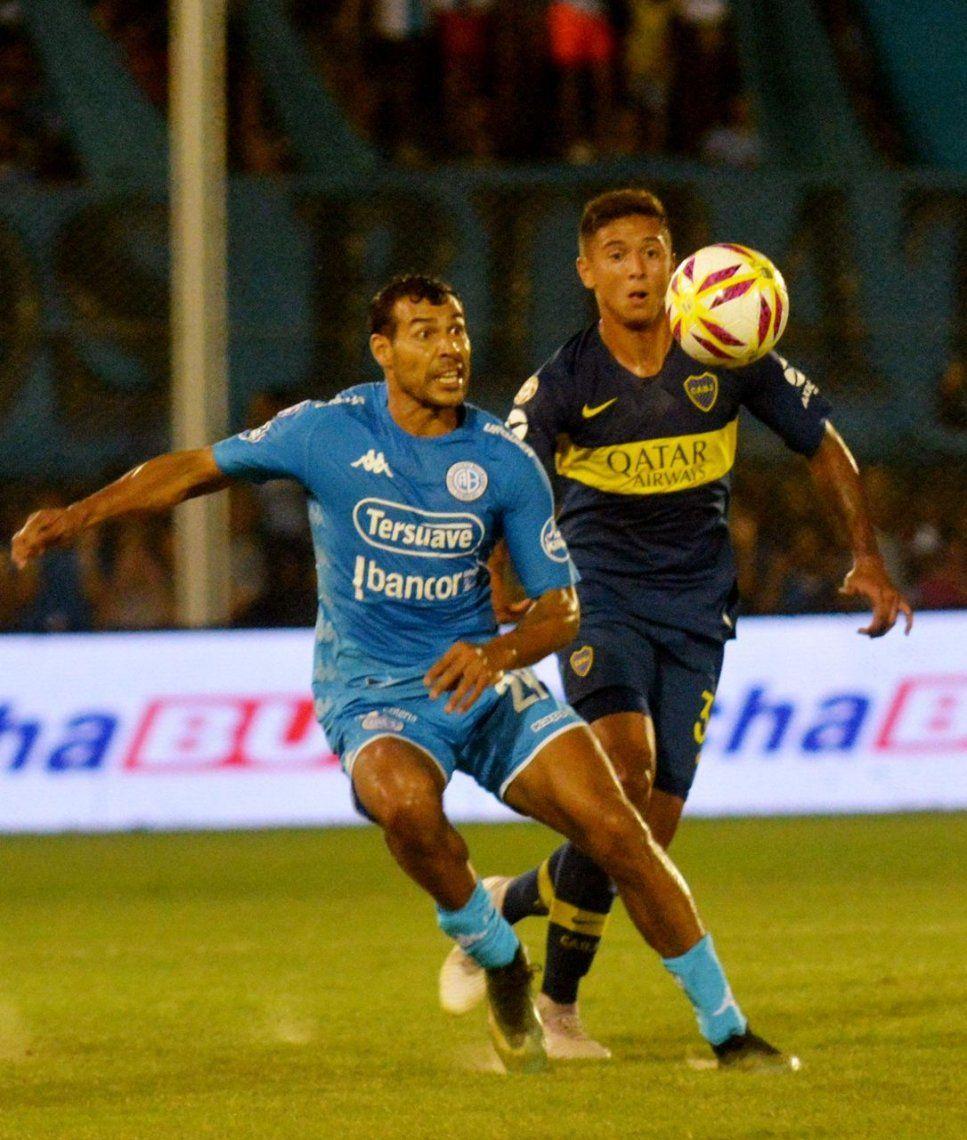 Boca durmió cerca del final, no pudo con Belgrano y quedó lejos