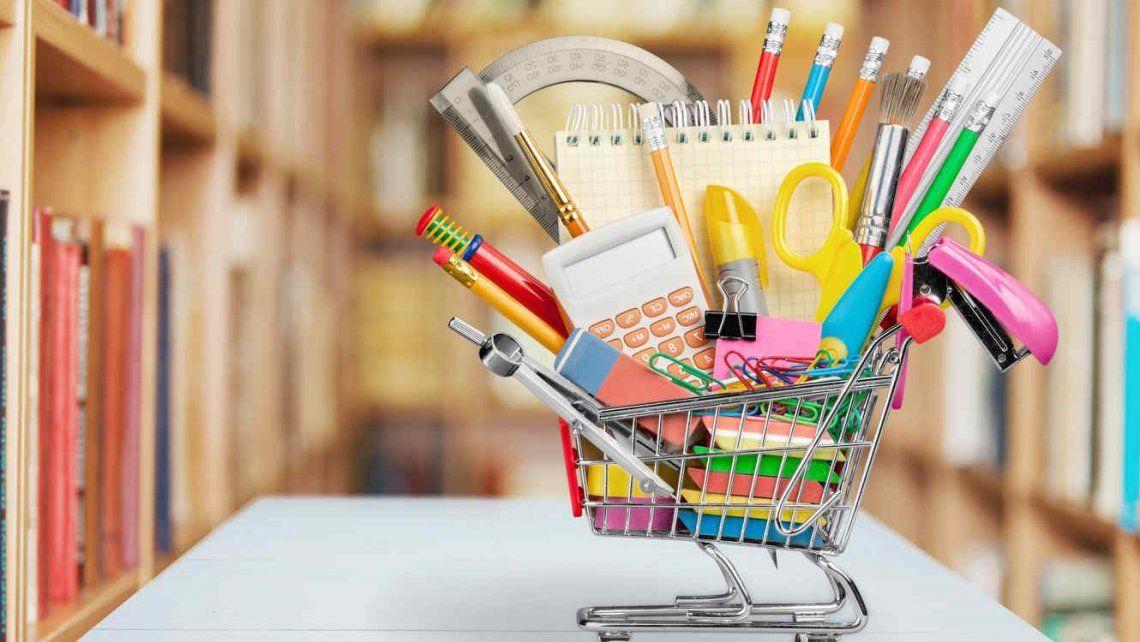 La canasta escolar llega con fuertes subas: aumentó más de un 40% en el último año