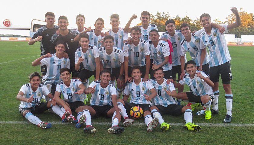 La Selección Argentina Sub 16, campeona en Portugal
