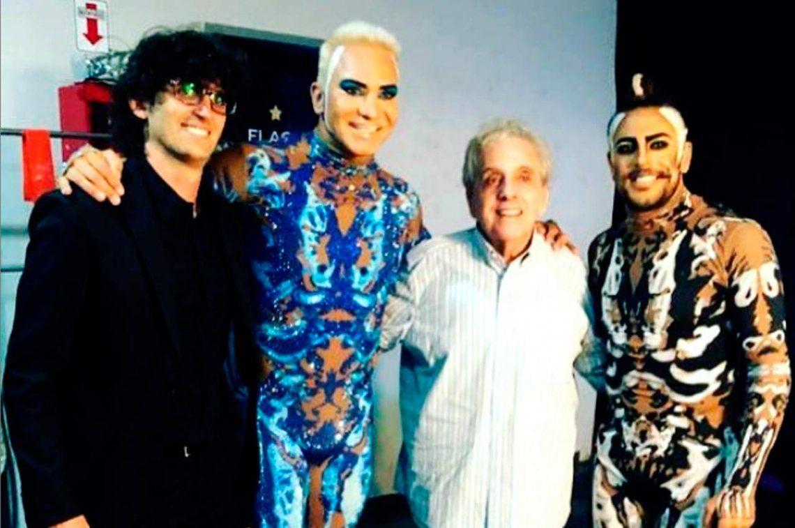 Antonio Gasalla fue a ver a Flavio Mendoza al teatro: ¿se viene un proyecto juntos?