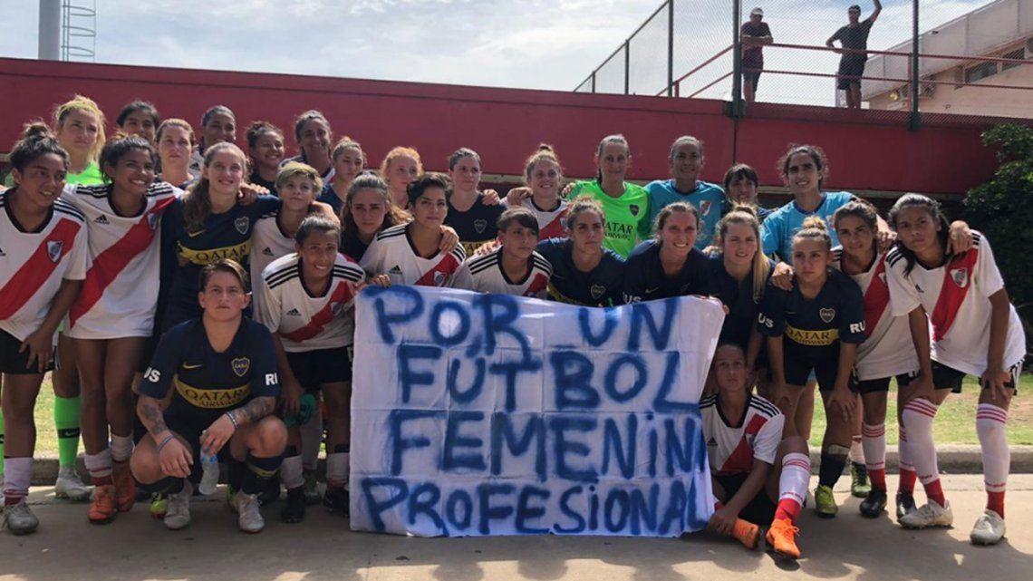Las mujeres del fútbol van por más y buscan la reglamentación de la Ley Nacional de Deporte
