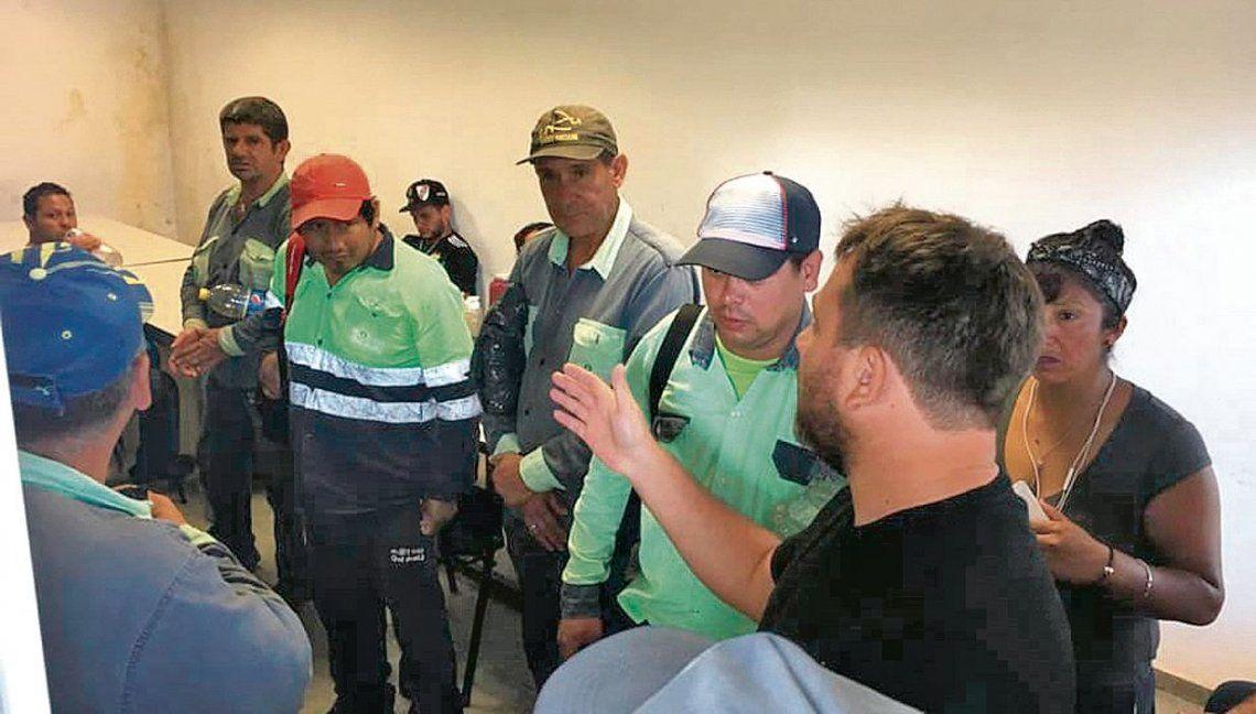 dUno de los conflictos fue en la Base Operativa Nº 5 de Sarandí donde se evitaron los traslados compulsivos.