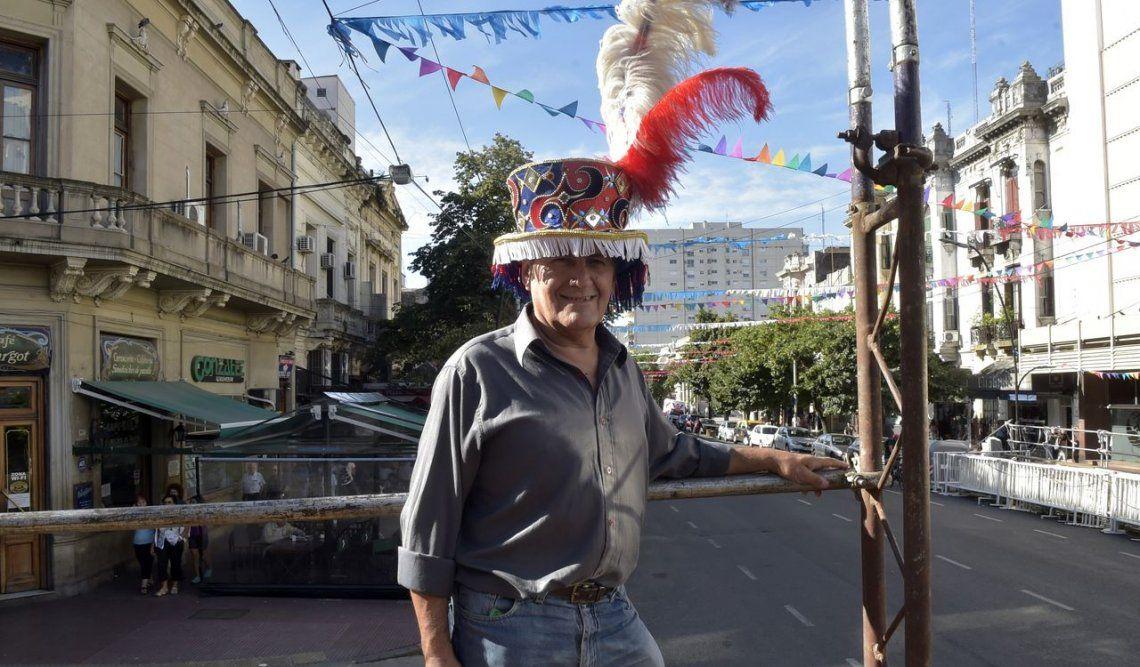 Para Juan Carlos, la vida sin  la murga no es un Carnaval