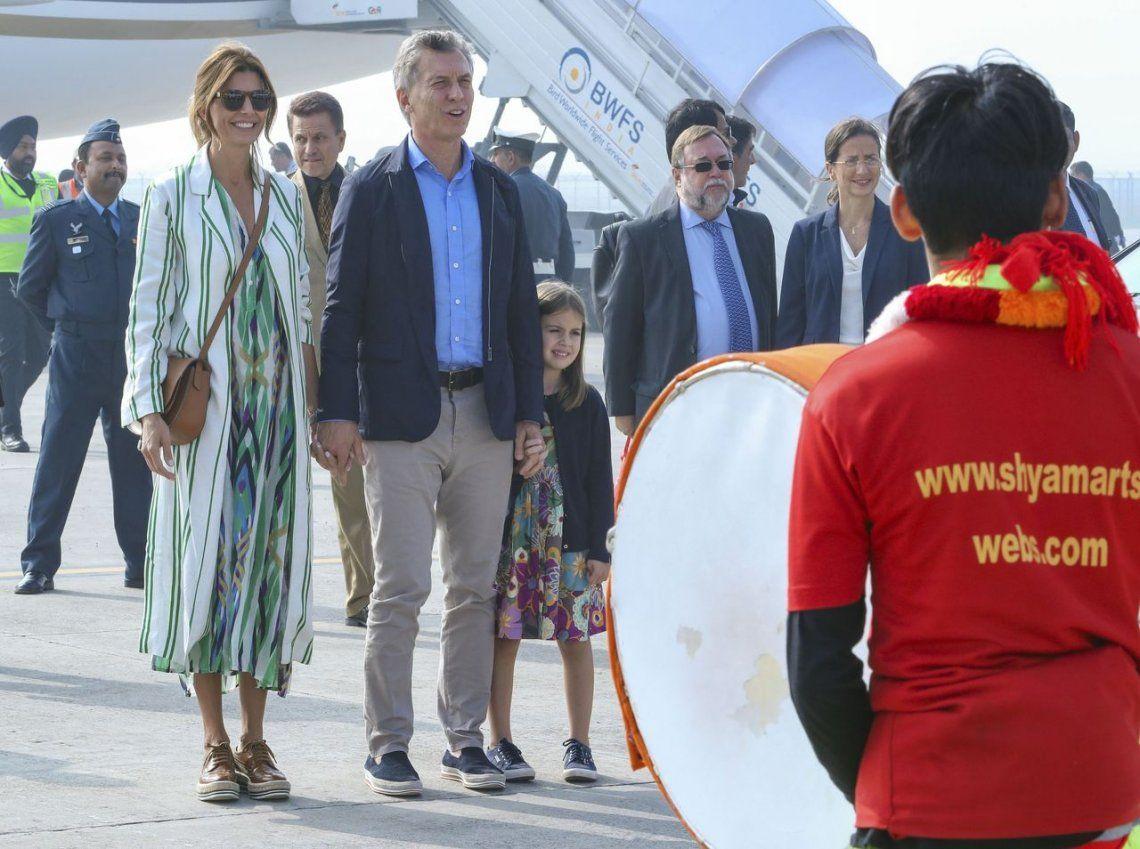 Macri arribó a la India y le pidió a los empresarios trabajar en equipo
