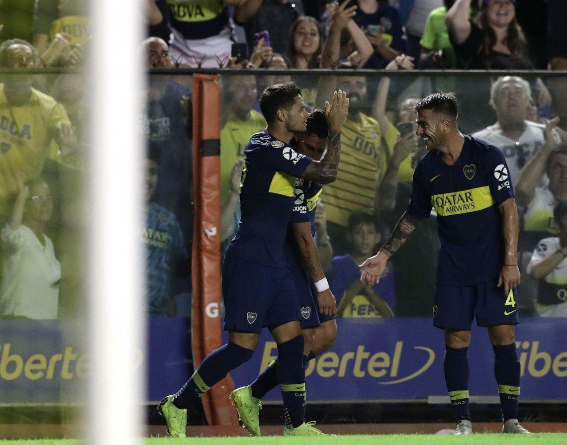 Una ráfaga de goles sacudió la Bombonera y Boca le ganó a Lanús