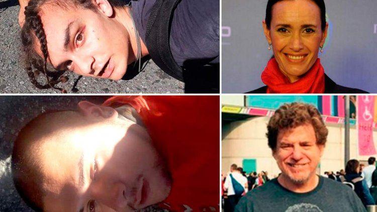Los hijos de Federica Pais y Guillermo Laje denunciaron maltrato policial