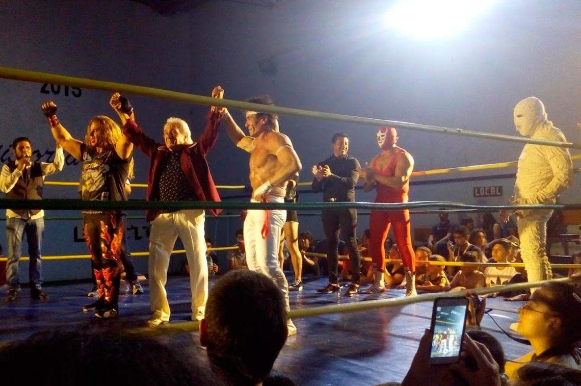 La Momia, Kato y Vicente Viloni, unidos en La Gran Lucha