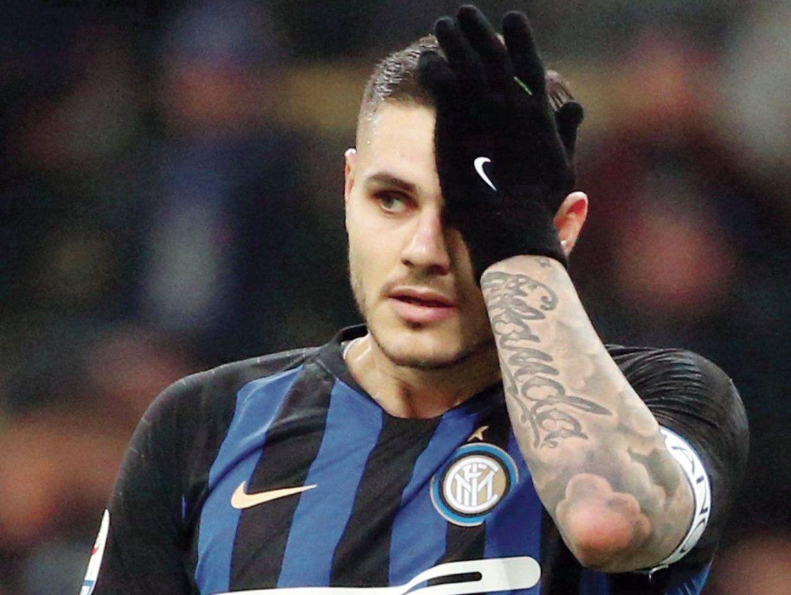 Mauro Icardi busca club: no será tenido en cuenta en Inter
