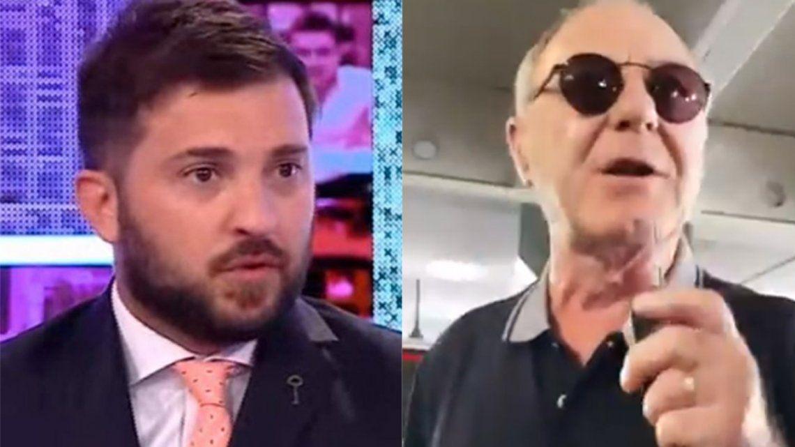 El tenso momento que vivió Diego Brancatelli en Unicenter: No sos bienvenido, basura kirchnerista