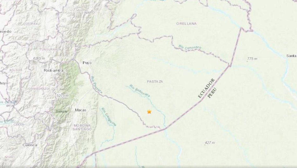 Fuerte terremoto de 7,5 grados de magnitud azotó la zona sur de Ecuador