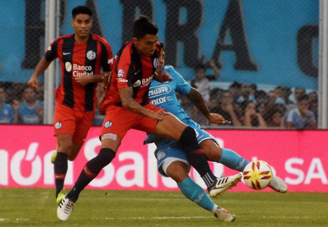 San Lorenzo sigue sin ganar: igualó sin goles con Belgrano en Córdoba